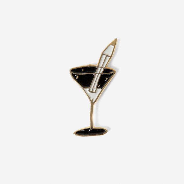rikiki Martini Pencil Pin