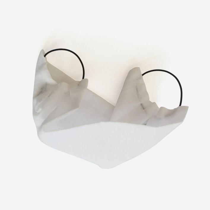 Saskia Diez Maske Baumwolle White