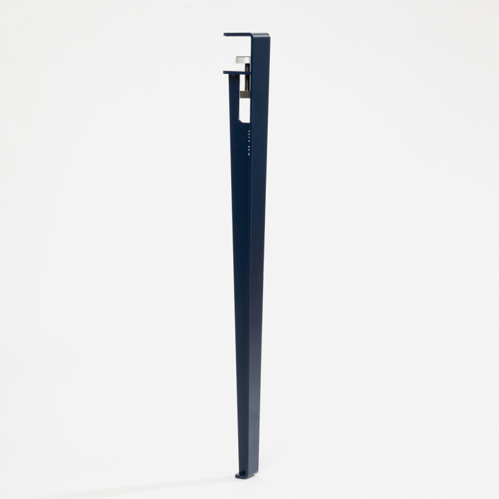 Tiptoe Table and desk leg – 75 cm Mineral Blue Mineral Blue