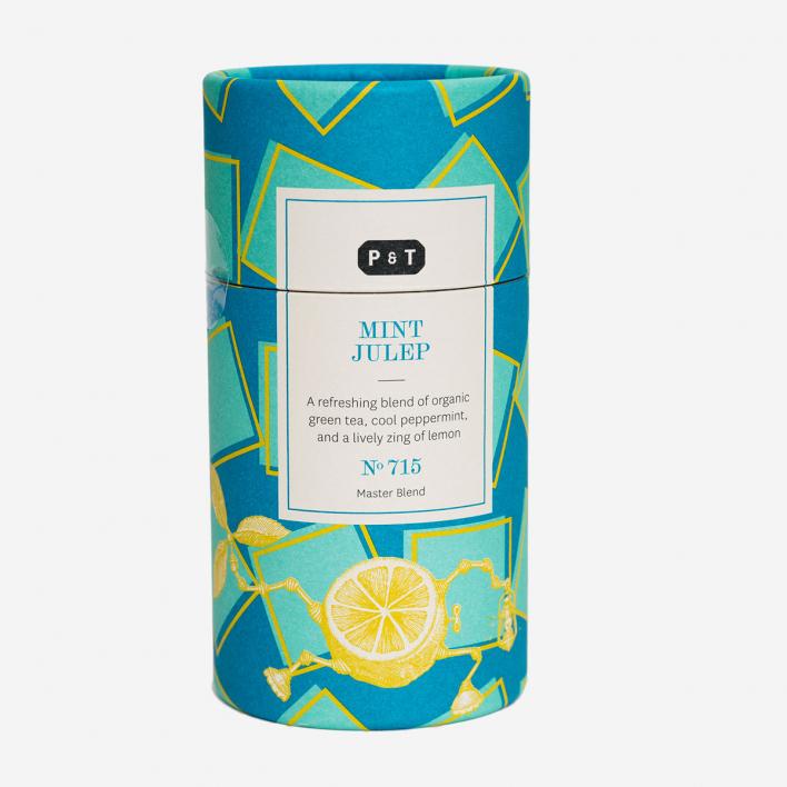 P & T - Paper & Tea Mint Julep No. 715 - Grüner Tee, Zitrone, Minze