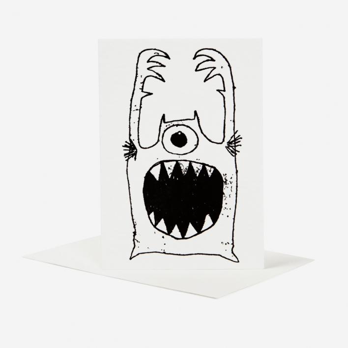 Silberfuchs & Rabe Monster - Card