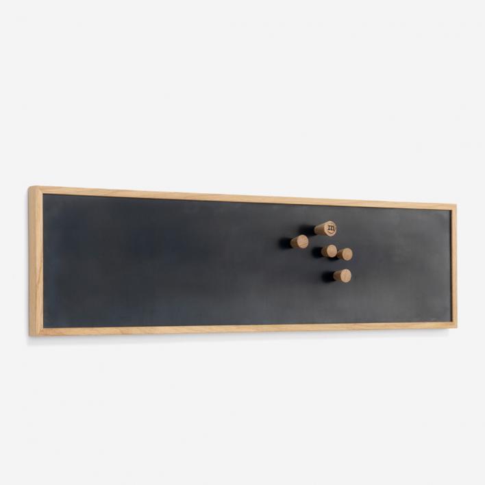 The Oak Men Magnetic Notice Board Small