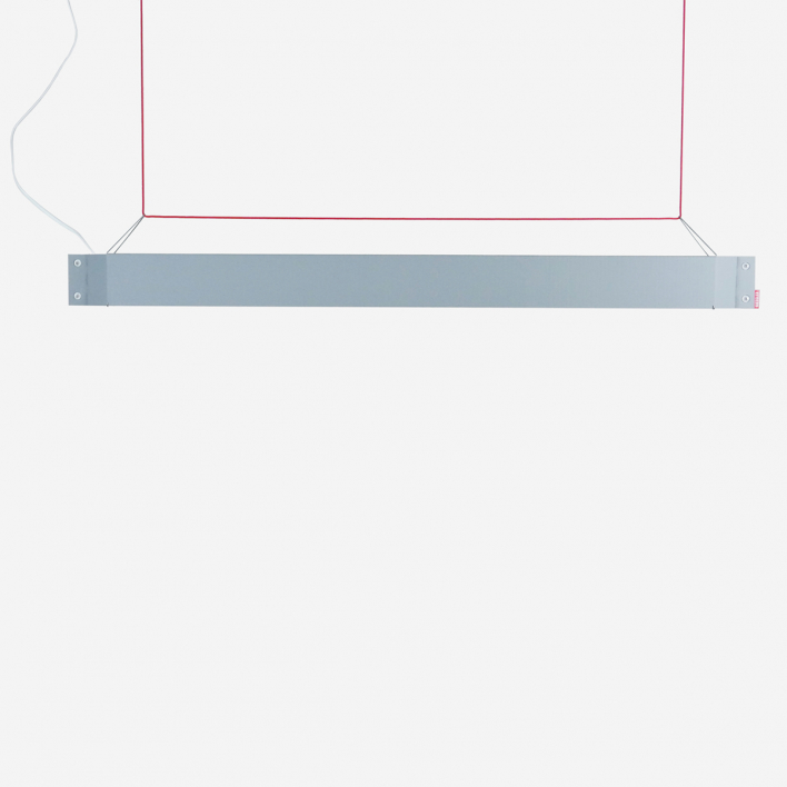 Kiessler Numerouno - LED - mausgrau/ rot