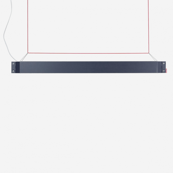 Kiessler Numerouno - LED - schiefer/ rot