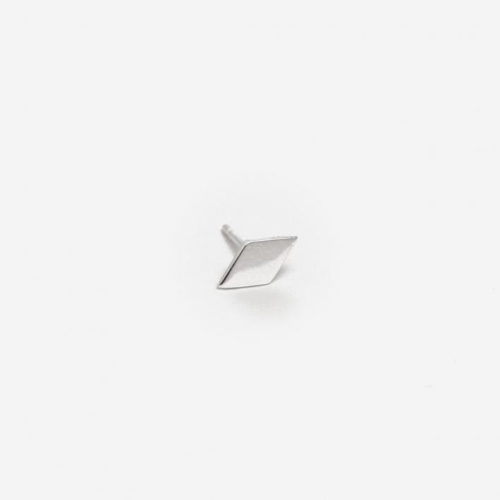 Saskia Diez Ohrstecker Rhombo Mini - Silber 925