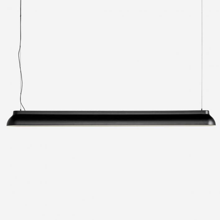 HAY PC Linear Soft Black – Pendelleuchte