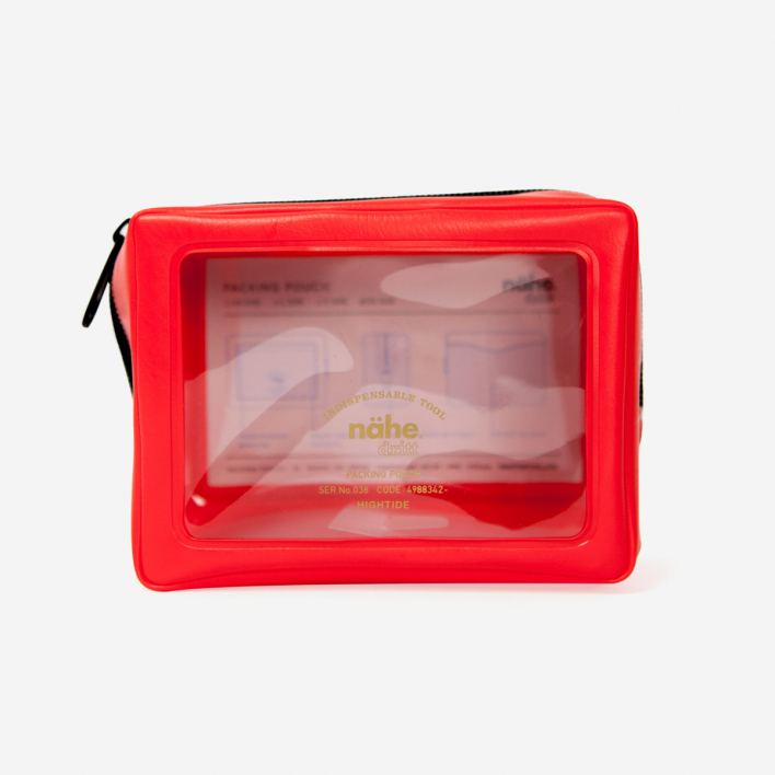 Nähe Packing Pouch - XS Red