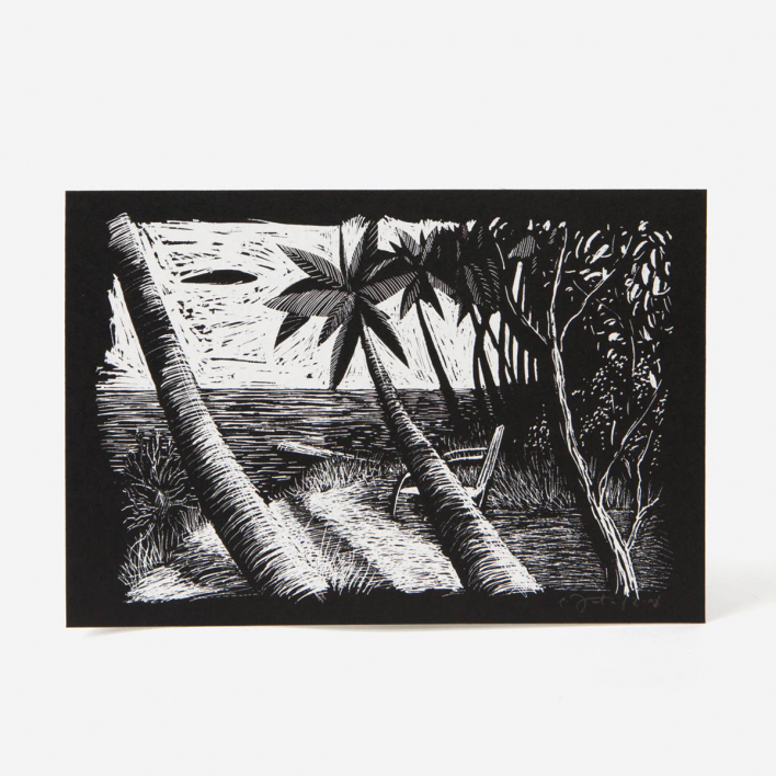 Janta Island Palms Screenprint