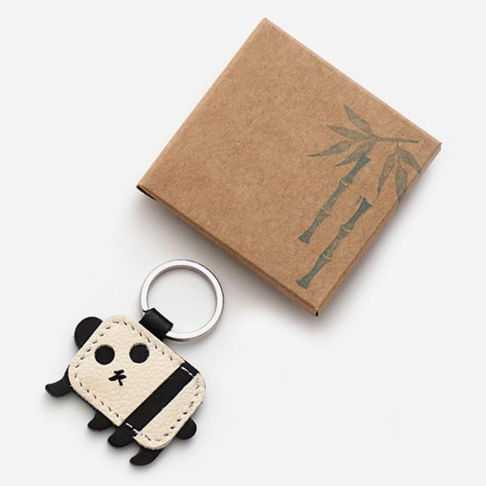Herr Pong Panda Schlüsselanhänger