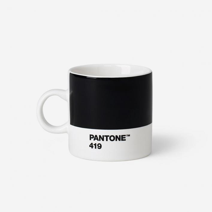 Pantone Pantone™ Black 419 Porcelain Espresso Mug