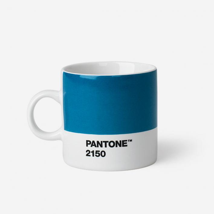 Pantone Pantone™ Blue 2150 Espresso-Tasse aus Porzellan