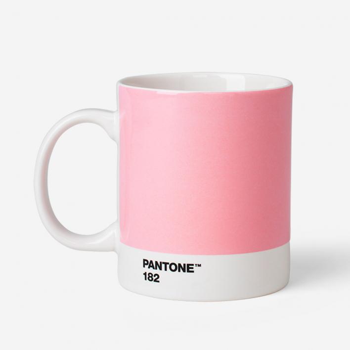 Pantone Pantone™ Light Pink 182 Porcelain Mug