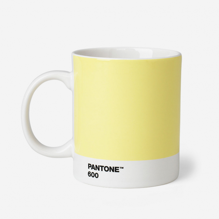 Pantone Pantone™ Light Yellow 600 Porcelain Mug