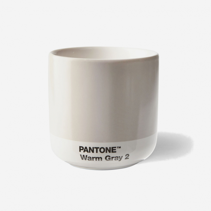 Pantone Pantone™ Warm Gray 2 Cortado-Thermobecher