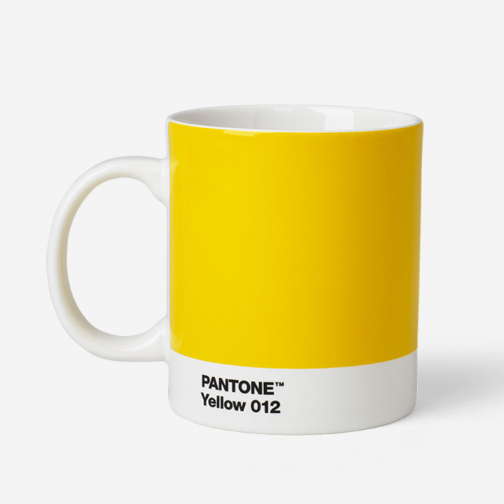 Pantone Pantone™ Yellow 012 Porzellan-Tasse