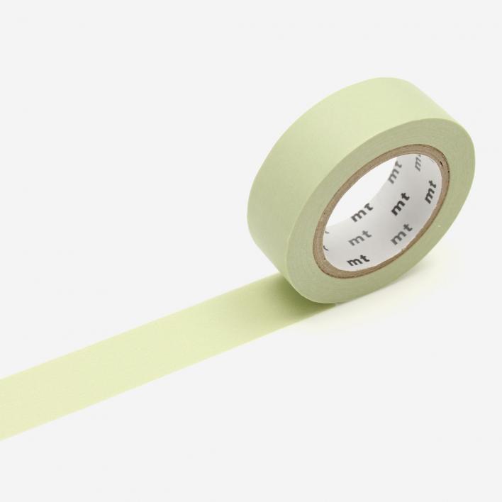 mt Pastel Olive Masking Tape