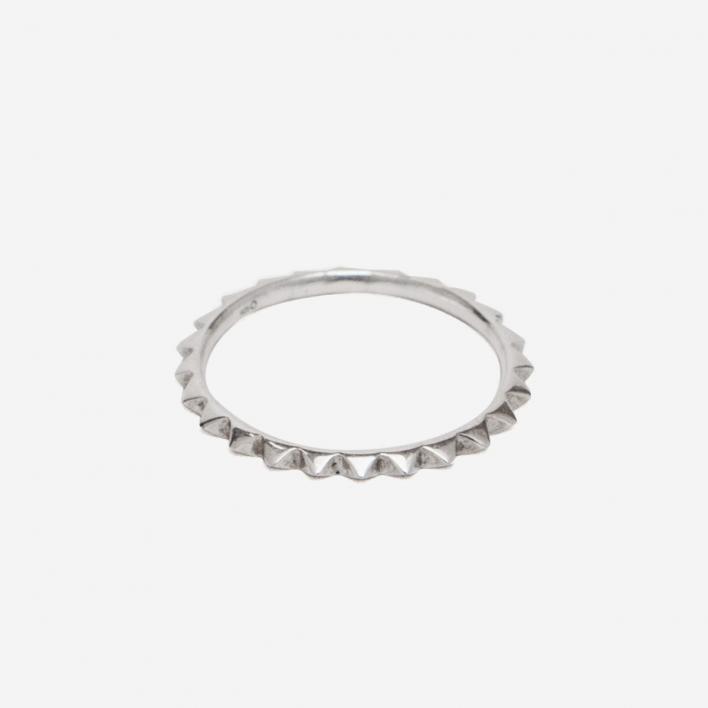 Saskia Diez Pavé Ring - 925 Sterling Silber 50