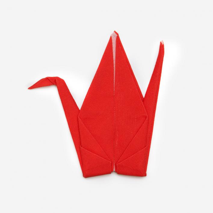 Perrocaliente Peti Peto Origami-Tuch Kranich
