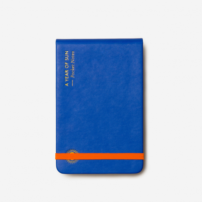Octaevo Pocket Notes Blue Notizbuch