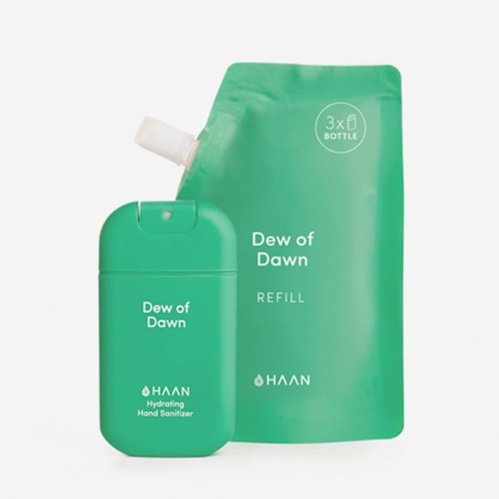 HAAN Pocket + Refill Handdesinfektionsmittel - Dew of Dawn (30 + 100 ml)