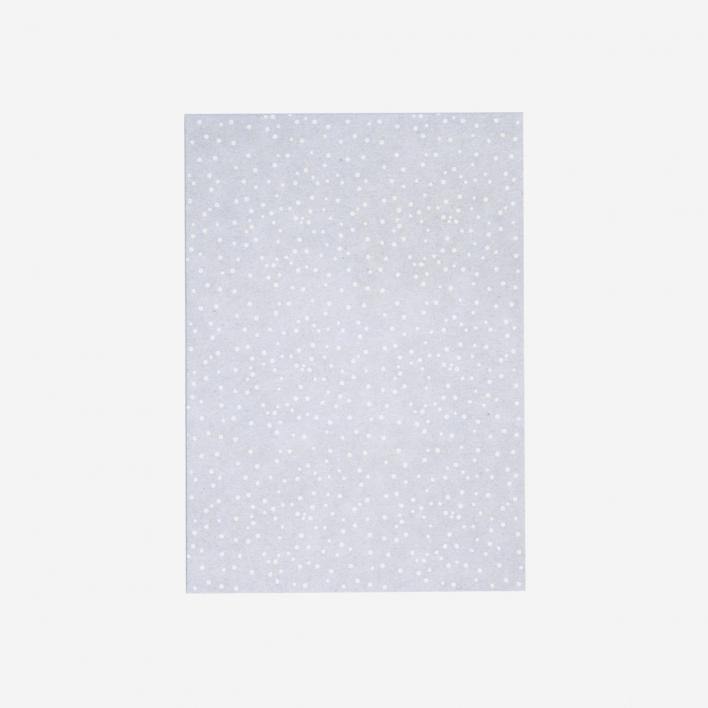 Perlenfischer Postcard Wild Dots Grey