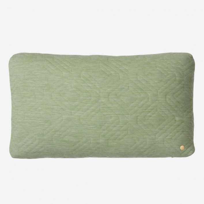 ferm LIVING Quilt Kissen 60 × 40 cm - Green