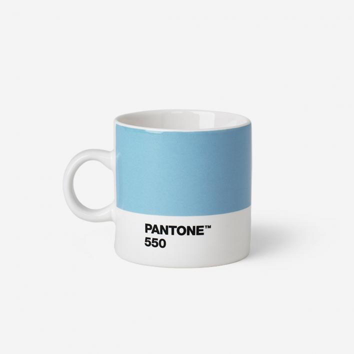 Pantone™ Light Blue 550 Espresso-Tasse aus Porzellan                          </a>                    </div>                    <div class=
