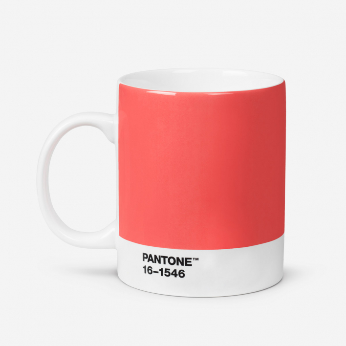 Pantone Pantone™ Color of the Year 2019 - Living Coral 16-1546 Porzellan-Tasse