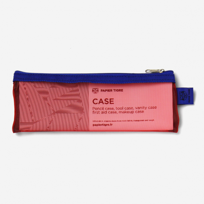 Papier Tigre Pencil Case Red