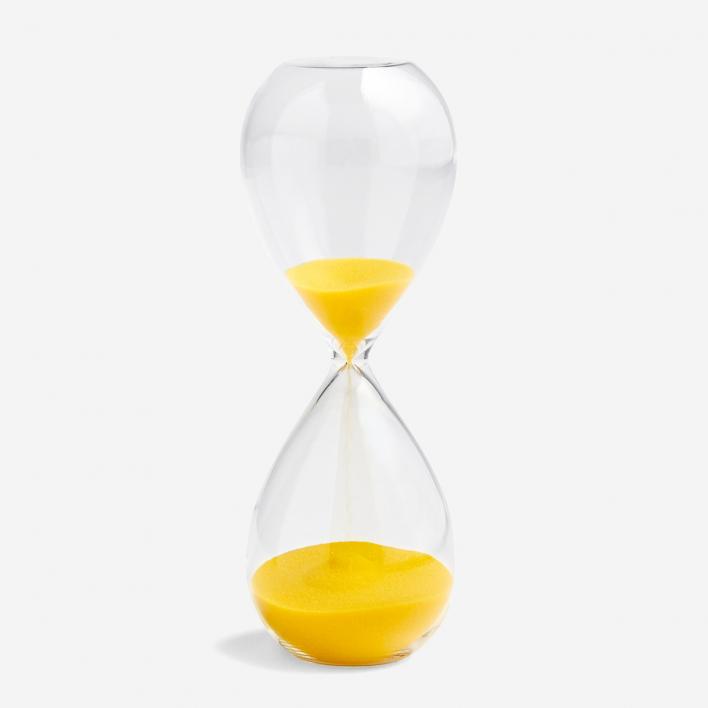 HAY Sanduhr Time 15 Minuten - Lemon Yellow