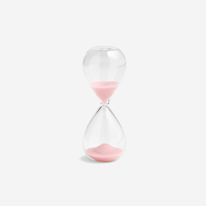 HAY Sanduhr Time 3 Minuten - Light Pink