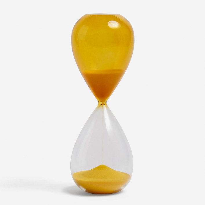 HAY Sanduhr Time 30 Minuten - Yellow