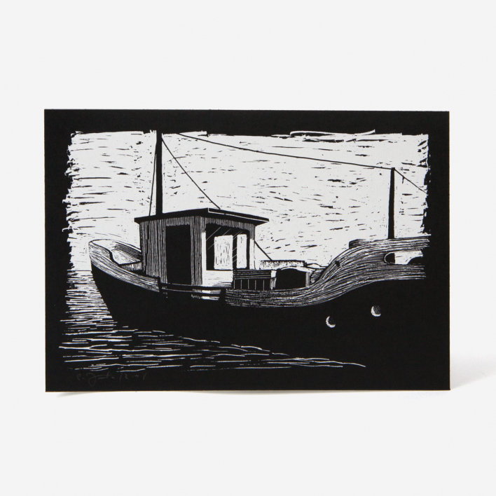 Janta Island Boat Screenprint