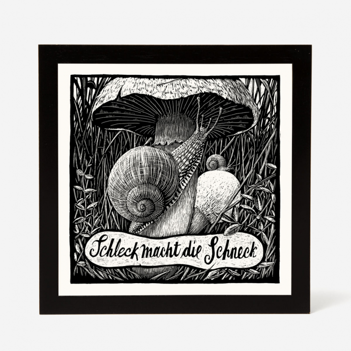 Janta Island Snail Screenprint