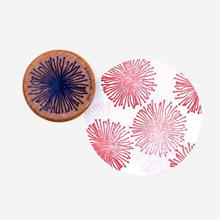 Perlenfischer Seeanemone Stempel