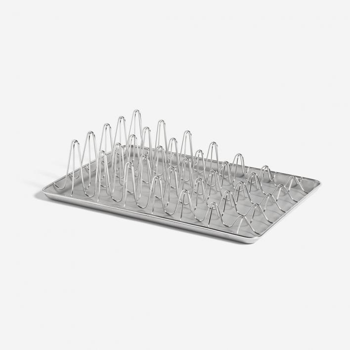 HAY Shortwave Dish Rack Stainless Steel