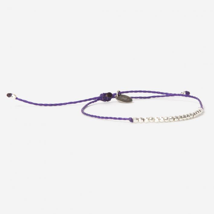 Geschmeidig Simply New Venus Bracelet Warm Violette 925 Sterling Silver