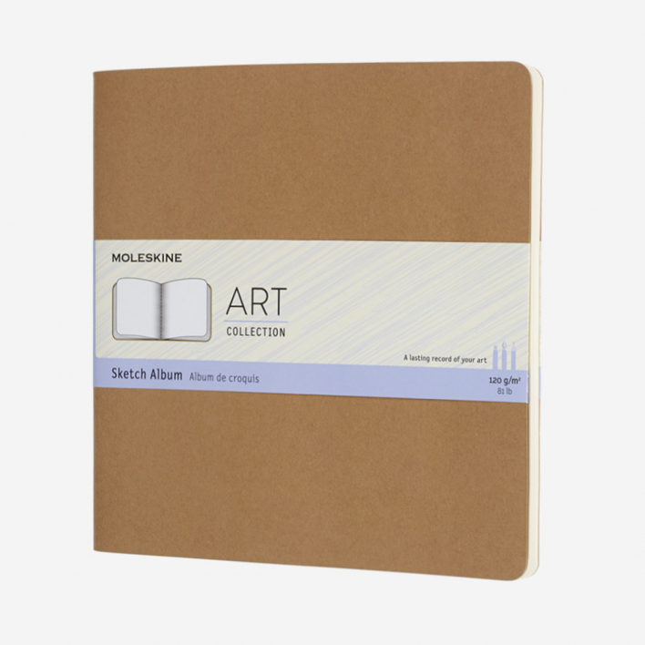 Moleskine Sketchbook Square Kraft