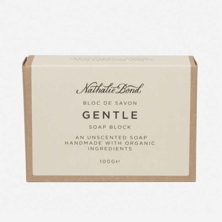 Nathalie Bond Soap Block Gentle
