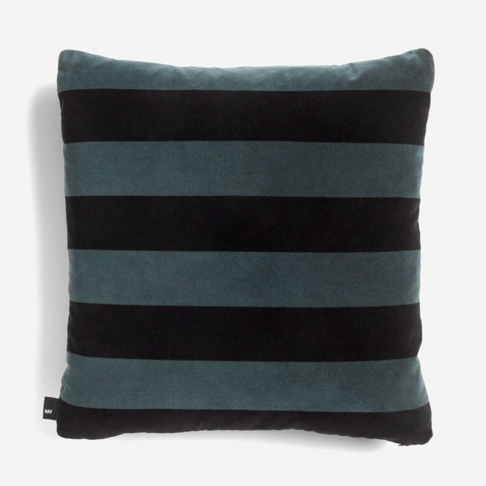 HAY Soft Stripe Cushion Hunter