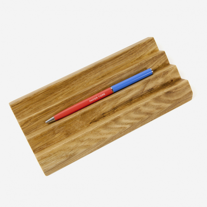 Papierniczeni Oak Desk Pen Holder M