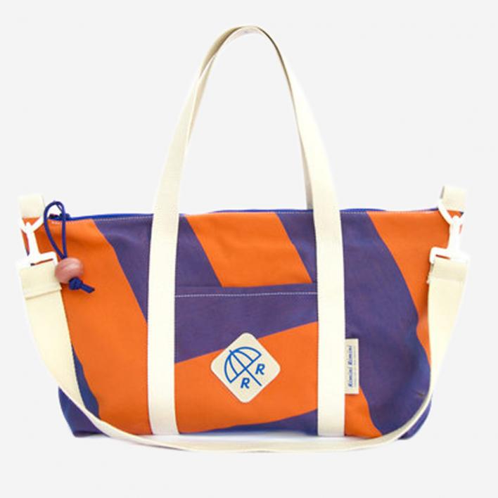 Rimini Rimini Bags Strandtasche Pinarella Orange Purple col. 12