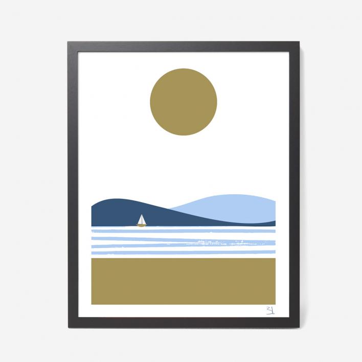 U Studio Summer Screenprint Poster