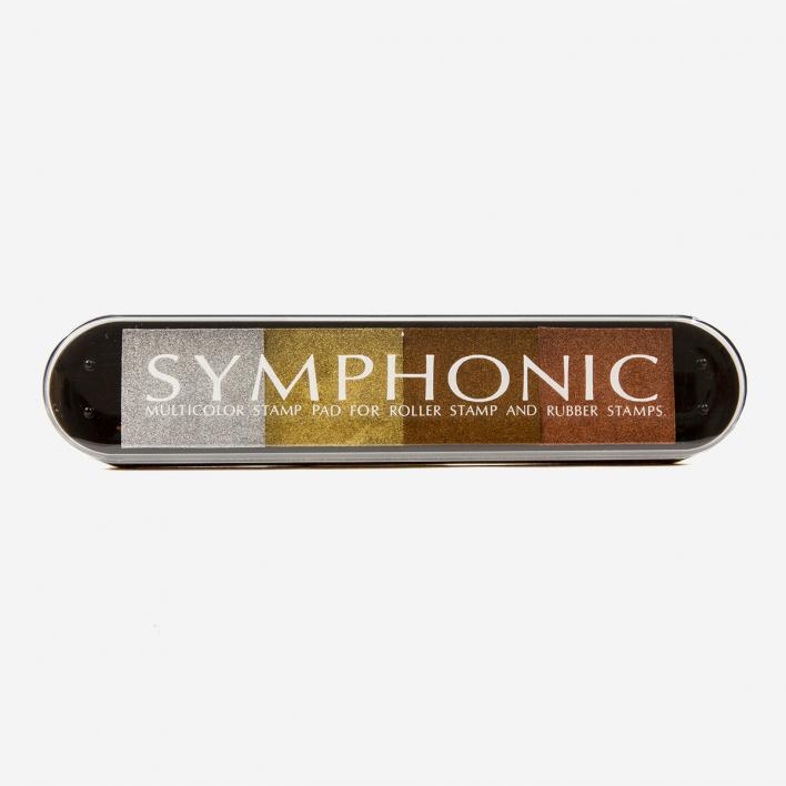 Tsukineko Symphonic 4-Color Metallic Stempelkissen