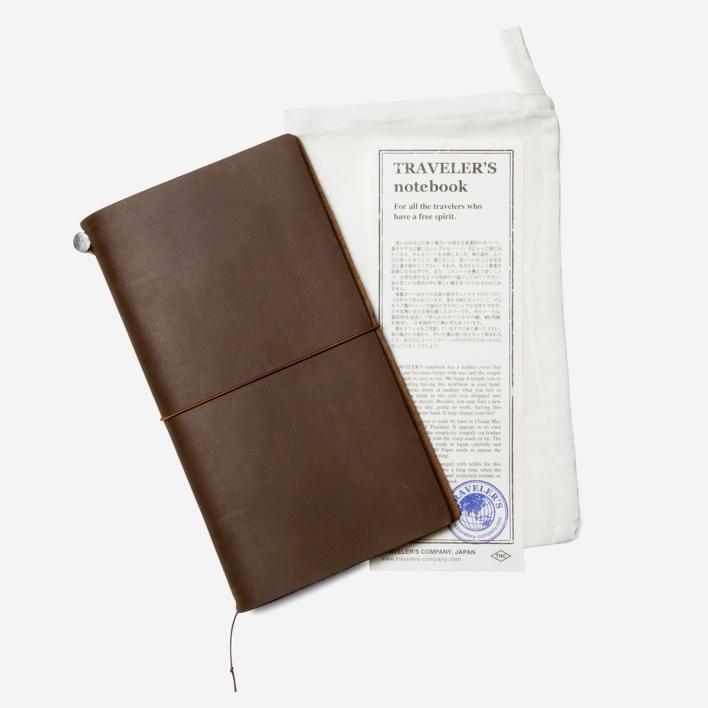 TRAVELER'S Company TRAVELER'S Notebook - Braun