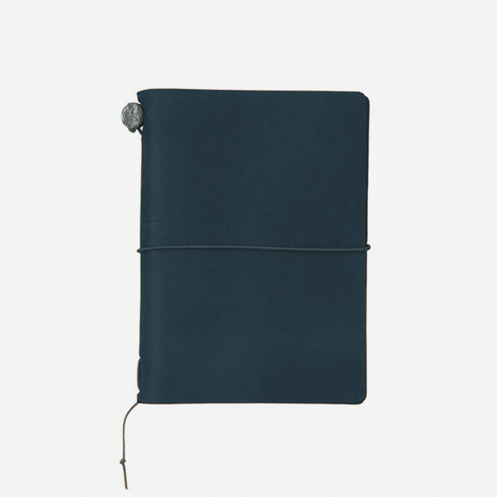 TRAVELER'S Company TRAVELER'S Notebook Passport Size - Blue