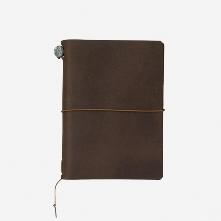 TRAVELER'S Company TRAVELER'S Notebook Passport Size - Black
