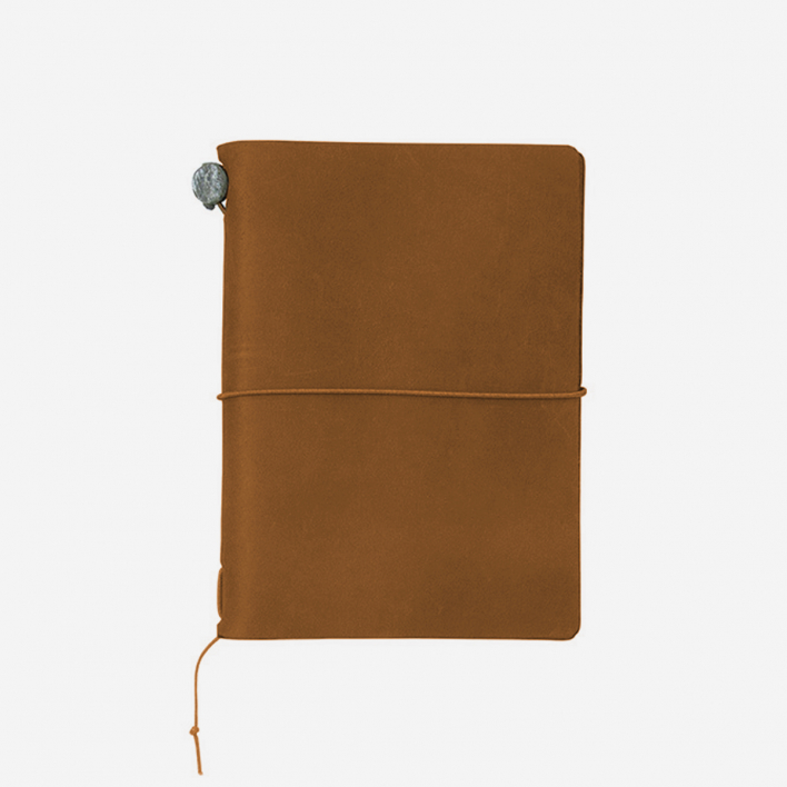 TRAVELER'S Company TRAVELER'S Notebook Passport Size - Camel