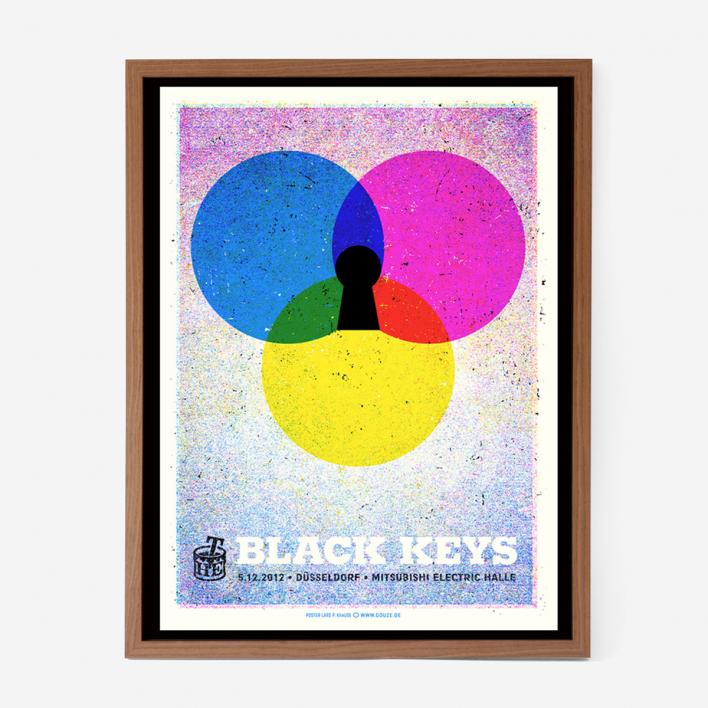 Douze The Black Keys Screenprint Gigposter