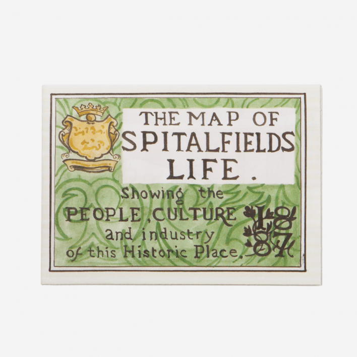 Herb Lester Associates The Map of Spitalfields City Guide